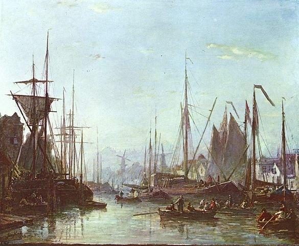 Rotterdam by Johan Barthold